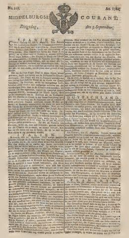 Middelburgsche Courant 1780-09-05