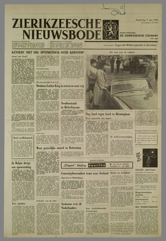 Zierikzeesche Nieuwsbode 1963-05-09
