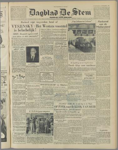 de Stem 1951-11-09