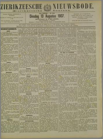 Zierikzeesche Nieuwsbode 1907-08-13