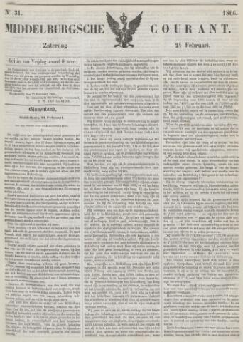 Middelburgsche Courant 1866-02-24