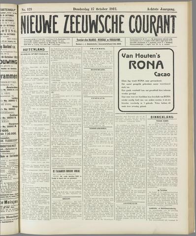 Nieuwe Zeeuwsche Courant 1912-10-17