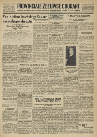 Provinciale Zeeuwse Courant 1950-05-03