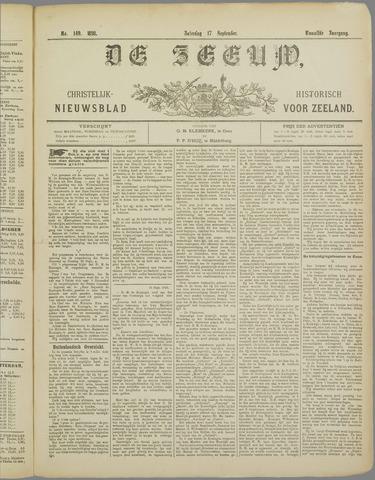 De Zeeuw. Christelijk-historisch nieuwsblad voor Zeeland 1898-09-17