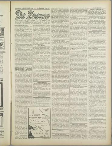 De Zeeuw. Christelijk-historisch nieuwsblad voor Zeeland 1944-02-08