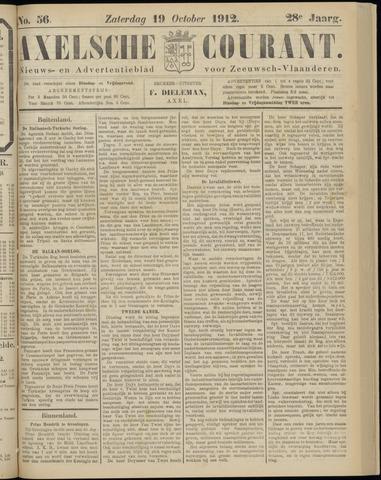 Axelsche Courant 1912-10-19