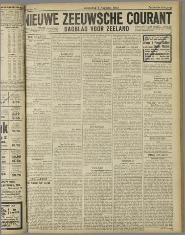 Nieuwe Zeeuwsche Courant 1920-08-04