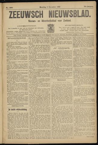 Ter Neuzensch Volksblad. Vrijzinnig nieuws- en advertentieblad voor Zeeuwsch- Vlaanderen / Zeeuwsch Nieuwsblad. Nieuws- en advertentieblad voor Zeeland 1919-12-06