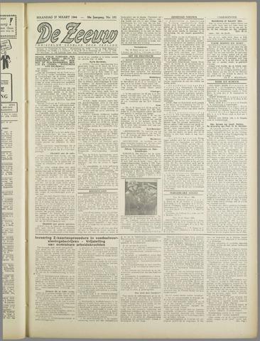 De Zeeuw. Christelijk-historisch nieuwsblad voor Zeeland 1944-03-27