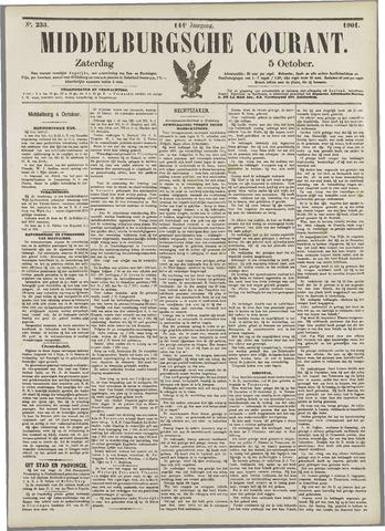 Middelburgsche Courant 1901-10-05
