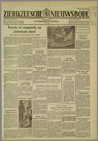 Zierikzeesche Nieuwsbode 1960-11-11
