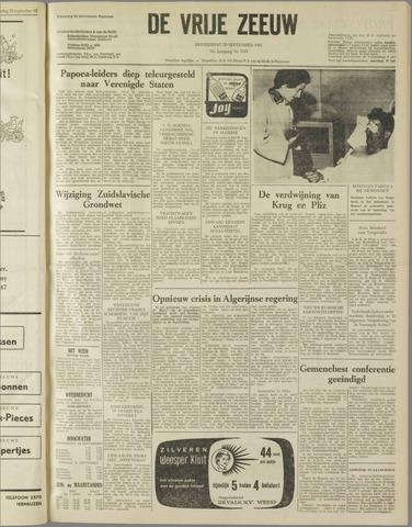 de Vrije Zeeuw 1962-09-20