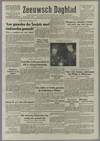 Zeeuwsch Dagblad 1956-11-21