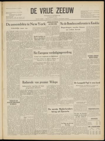 de Vrije Zeeuw 1952-10-22