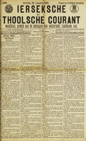 Ierseksche en Thoolsche Courant 1913-08-23