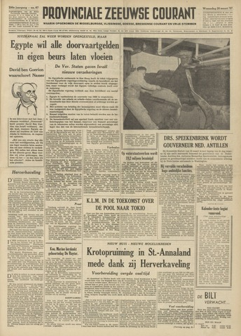 Provinciale Zeeuwse Courant 1957-03-20