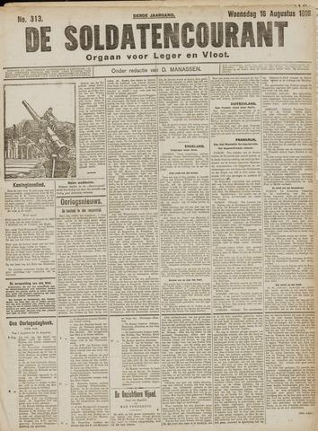 De Soldatencourant. Orgaan voor Leger en Vloot 1916-08-16