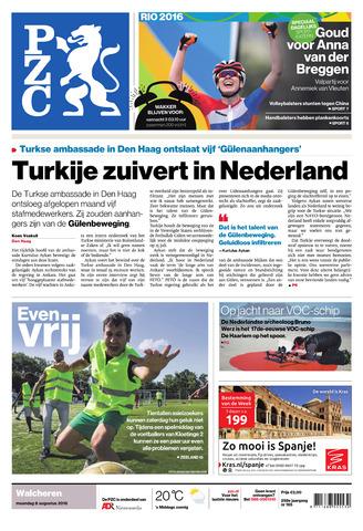 Provinciale Zeeuwse Courant 2016-08-08
