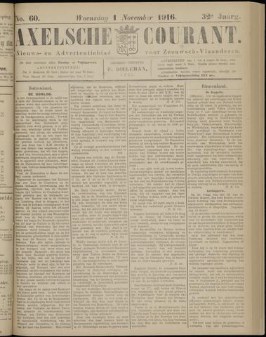 Axelsche Courant 1916-11-01
