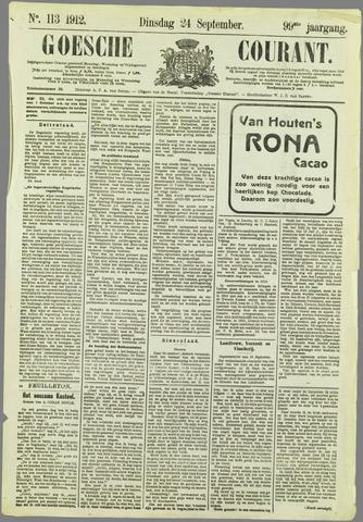 Goessche Courant 1912-09-24