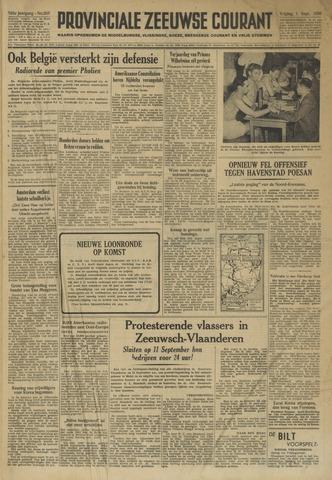 Provinciale Zeeuwse Courant 1950-09-01