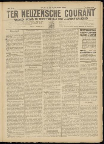 Ter Neuzensche Courant. Algemeen Nieuws- en Advertentieblad voor Zeeuwsch-Vlaanderen / Neuzensche Courant ... (idem) / (Algemeen) nieuws en advertentieblad voor Zeeuwsch-Vlaanderen 1935-11-29
