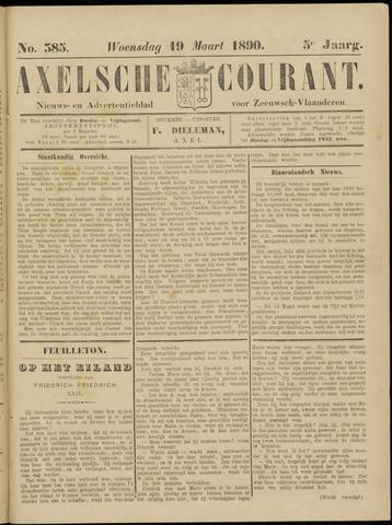 Axelsche Courant 1890-03-19