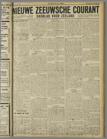 Nieuwe Zeeuwsche Courant 1920-06-15