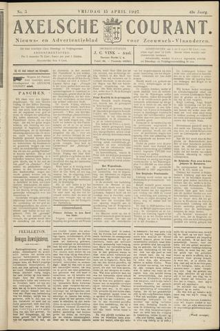 Axelsche Courant 1927-04-15