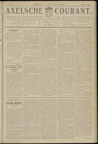 Axelsche Courant 1924-08-08