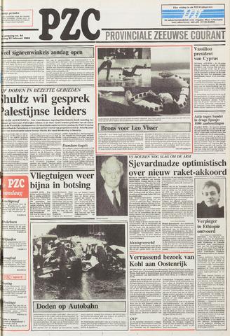 Provinciale Zeeuwse Courant 1988-02-22