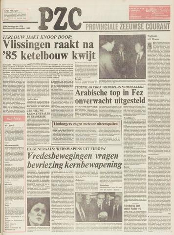 Provinciale Zeeuwse Courant 1981-11-26