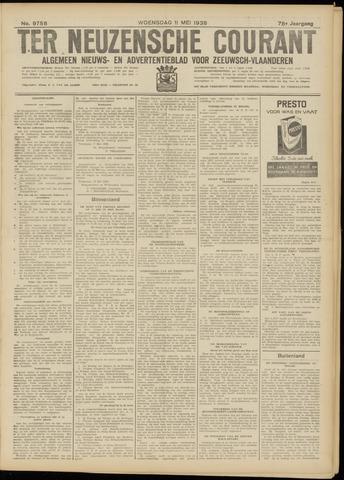 Ter Neuzensche Courant. Algemeen Nieuws- en Advertentieblad voor Zeeuwsch-Vlaanderen / Neuzensche Courant ... (idem) / (Algemeen) nieuws en advertentieblad voor Zeeuwsch-Vlaanderen 1938-05-11