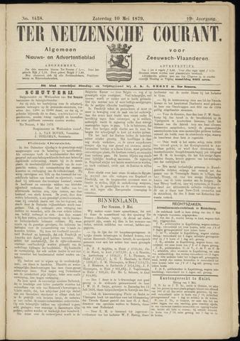 Ter Neuzensche Courant. Algemeen Nieuws- en Advertentieblad voor Zeeuwsch-Vlaanderen / Neuzensche Courant ... (idem) / (Algemeen) nieuws en advertentieblad voor Zeeuwsch-Vlaanderen 1879-05-10