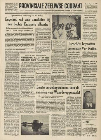 Provinciale Zeeuwse Courant 1956-10-04