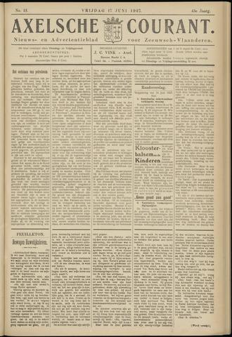 Axelsche Courant 1927-06-17