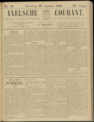 Axelsche Courant 1903-08-26