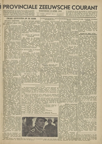 Provinciale Zeeuwse Courant 1944-04-12
