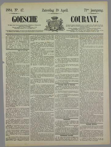 Goessche Courant 1884-04-19