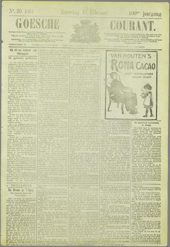 Goessche Courant 1913-02-15