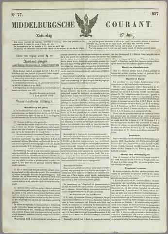 Middelburgsche Courant 1857-06-27