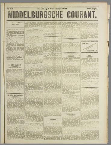 Middelburgsche Courant 1925-11-02