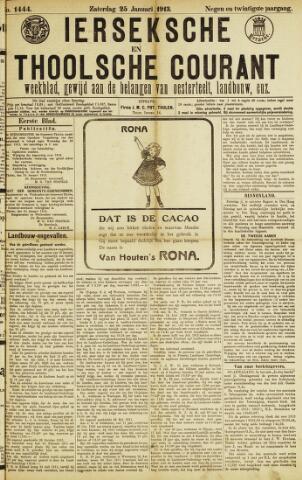 Ierseksche en Thoolsche Courant 1913-01-25