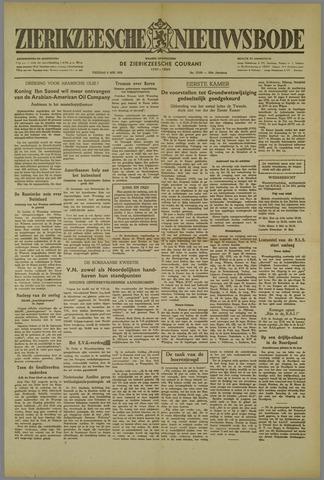 Zierikzeesche Nieuwsbode 1952-05-09