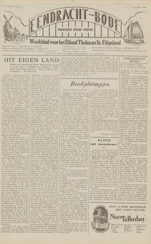 Eendrachtbode (1945-heden)/Mededeelingenblad voor het eiland Tholen (1944/45) 1949-10-07