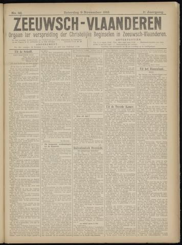 Luctor et Emergo. Antirevolutionair nieuws- en advertentieblad voor Zeeland / Zeeuwsch-Vlaanderen. Orgaan ter verspreiding van de christelijke beginselen in Zeeuwsch-Vlaanderen 1918-11-09