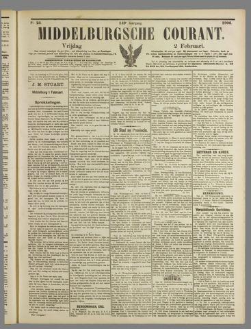 Middelburgsche Courant 1906-02-02