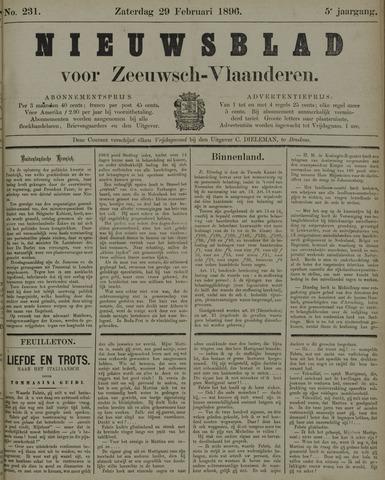 Nieuwsblad voor Zeeuwsch-Vlaanderen 1896-02-29