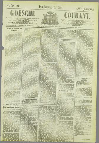 Goessche Courant 1913-05-22