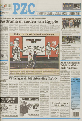 Provinciale Zeeuwse Courant 1997-07-09